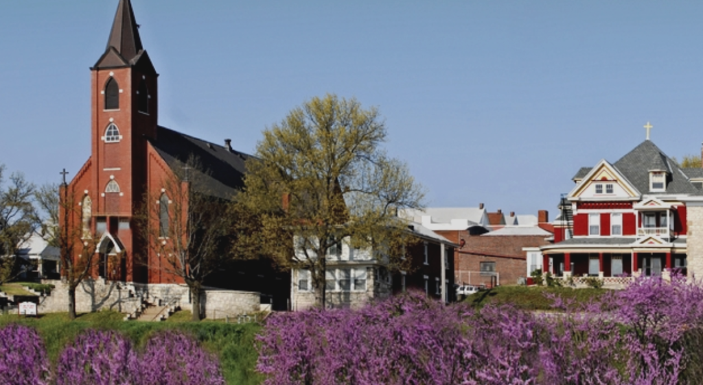 The historic Strawberry Hill neighborhood in Kansas City, Kansas. // Courtesy Strawberry Hill Neighborhood Association