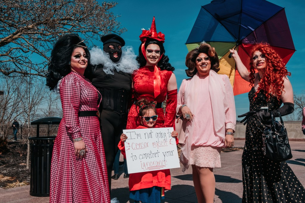 Drag Queen Protest Chase Castor 08