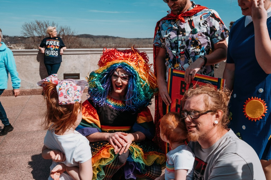 Drag Queen Protest Chase Castor 13