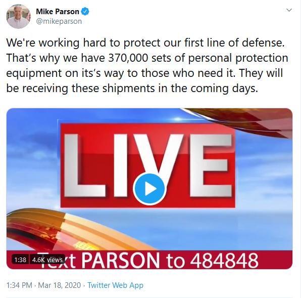 Gov Parson