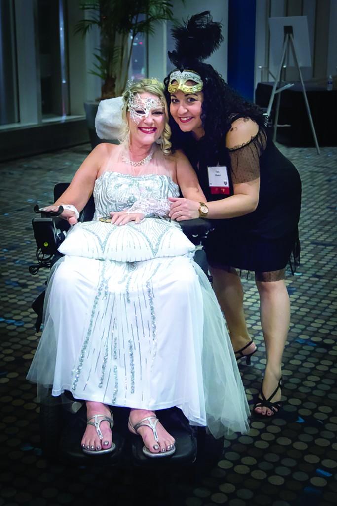 Jennifer Beckerman With Tara Dhakahl, Als Staff Member At A Night Of Hope 2018