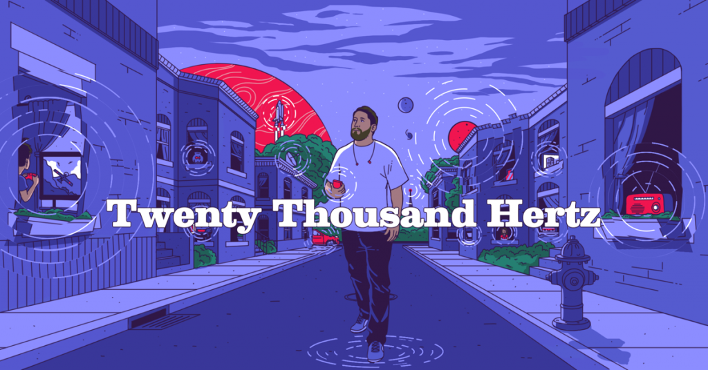 Images Uploads Gallery Twenty Thousand Hertz Key Art With Titles