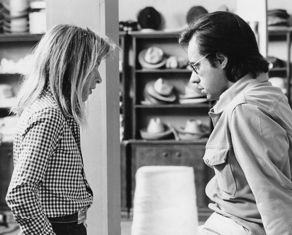 Polly Platt And Peter Bogdanovich On The Set Of Paper Moon, Photo Courtesy Of Sashy Bogdanovich