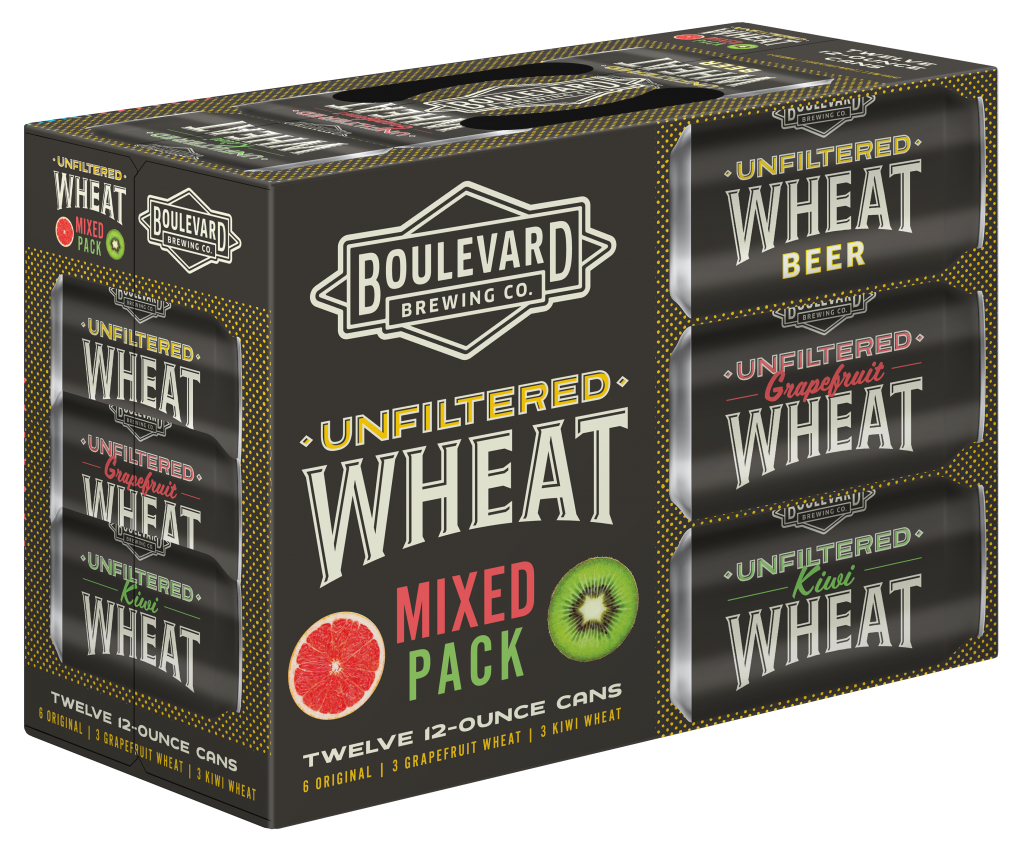 Unfilterd Wheat Mix Pack 12oz Can 12pk Angled View