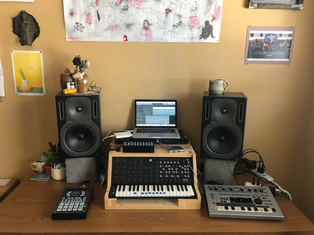 Dan Ohm Home Music Set Up