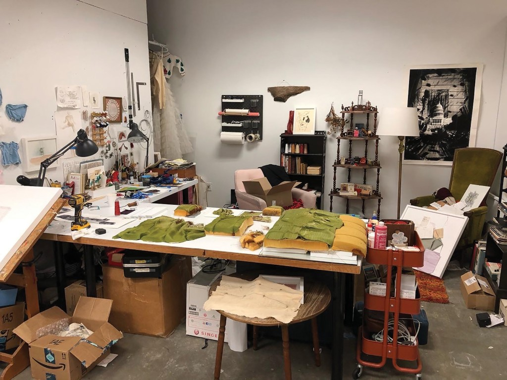 Mary Clara Hutchison Charlotte Street Studio (pre)