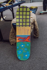 One Of The Custom Grip Tape Jobs At The Session.
