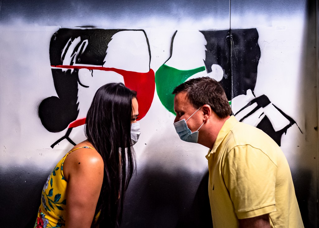 Graffiti Attic Opening 8579