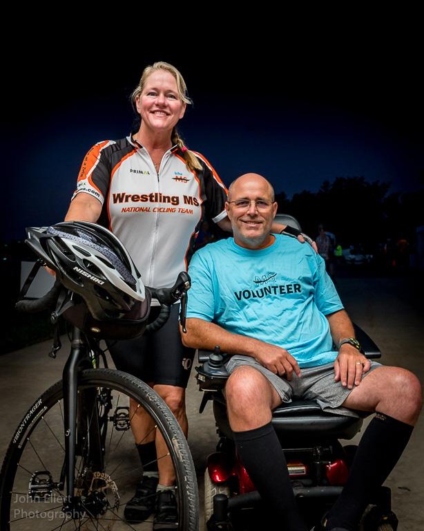 Mari Lynn And David Poskin At Bike Ms Ride 2019. John Ellert Photography