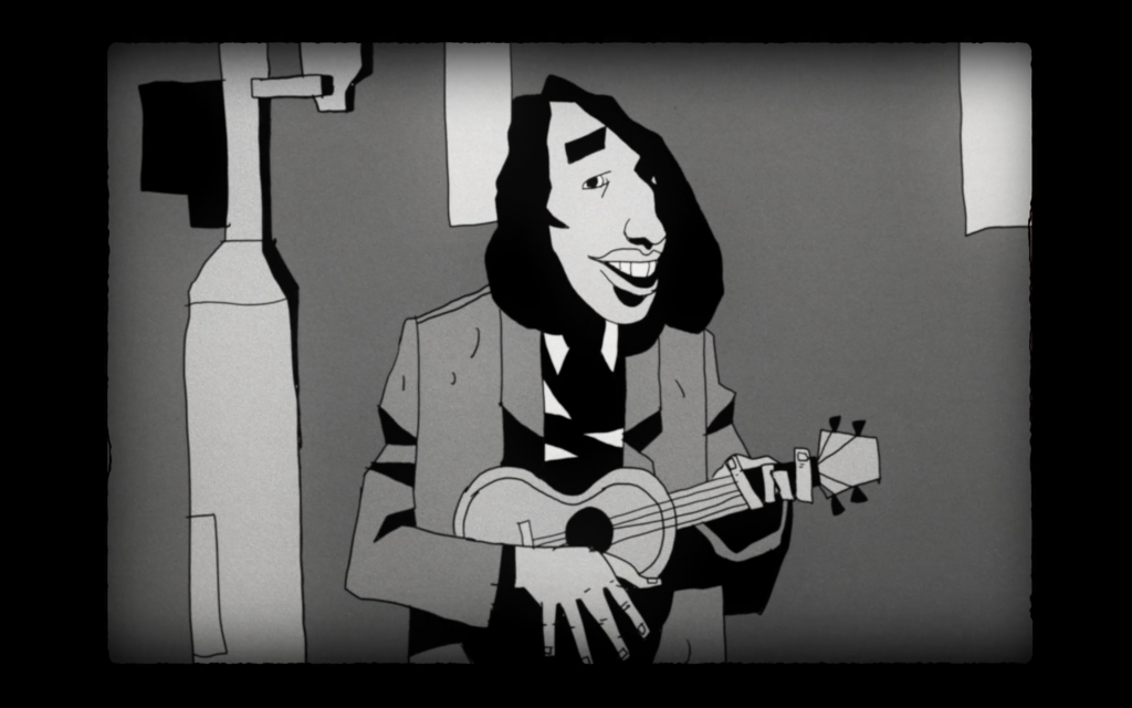 Tiny Tim Still Animation Ukulele Animation By Marko Mestrovic