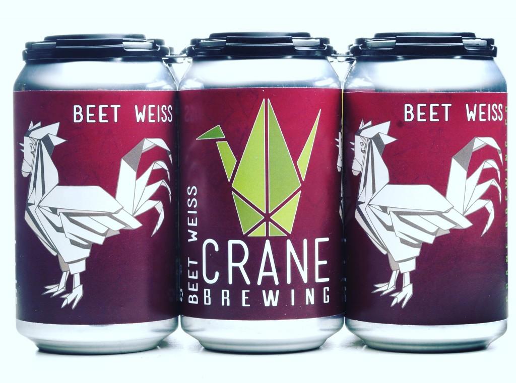 Beet Weiss Crane Brewing Co