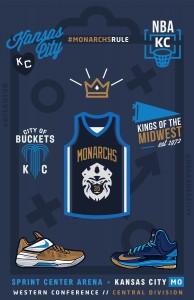 Kc Monarchs Collage 11x17