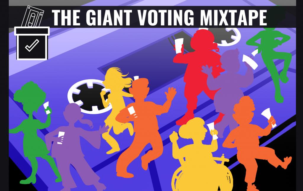 Voting Mixtape Art By Jade Gordon