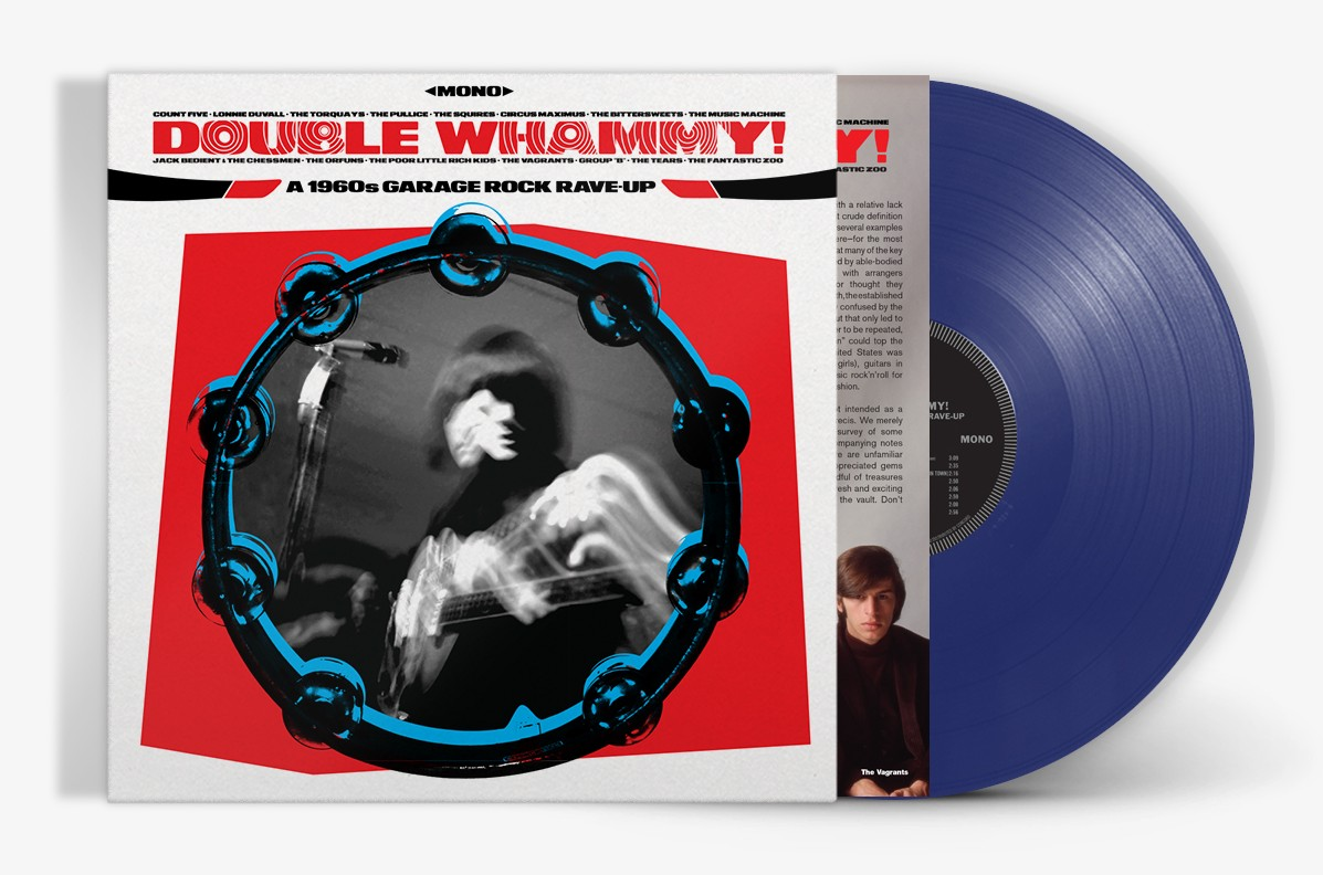 'double Whammy! A 1960s Garage Rock Rave Up' Pack Shot