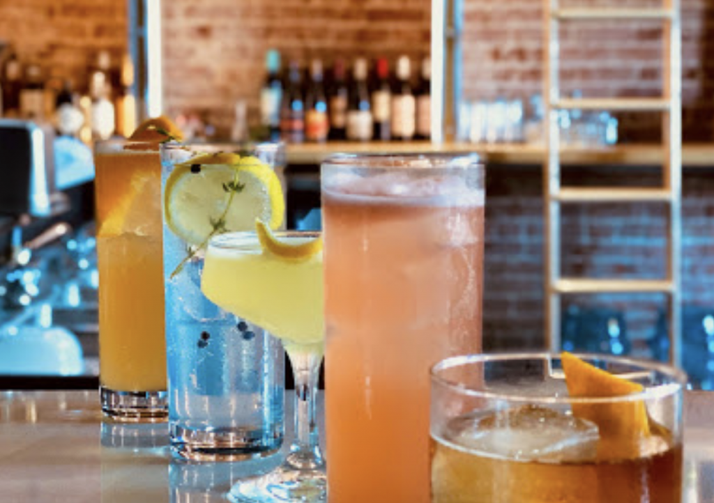 Cocktails at the Goat and Rabbit in Kansas City
