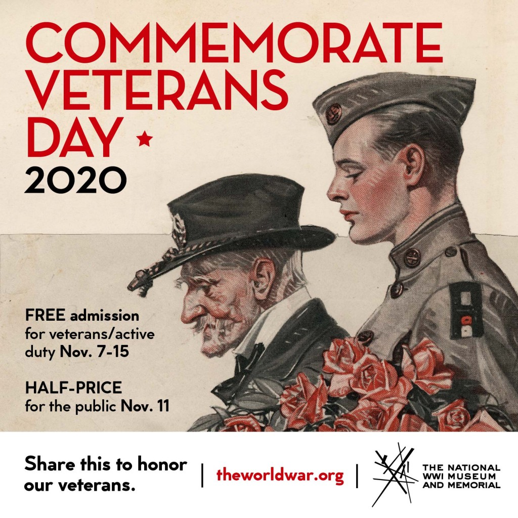Veterans Day 2020 Social Share Graphic