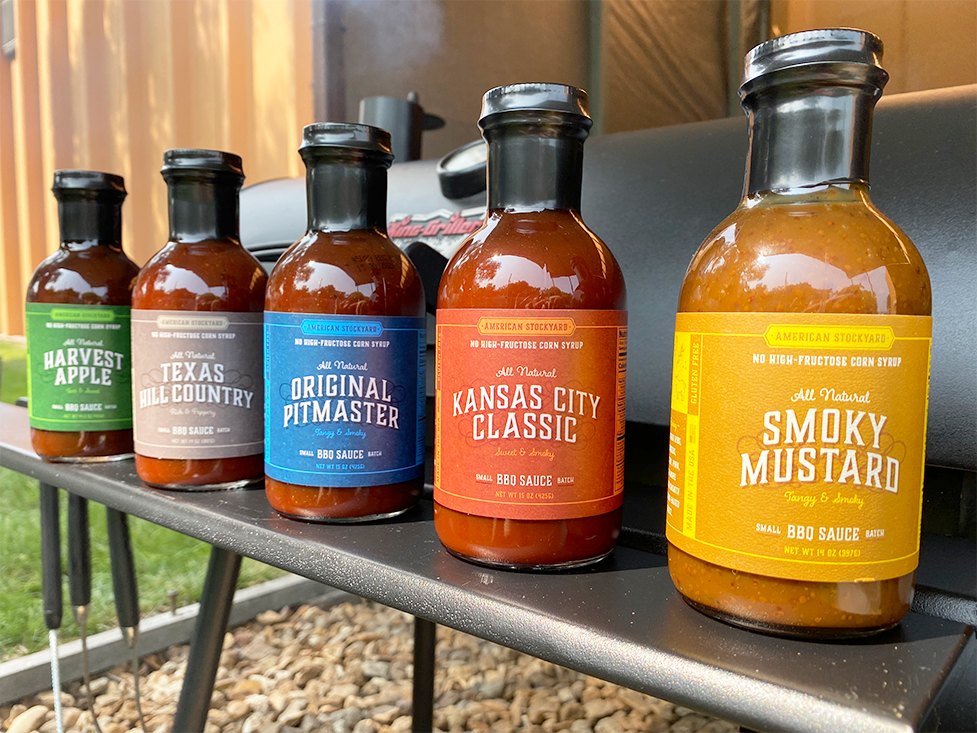 American Stockyard Bbq Sauces