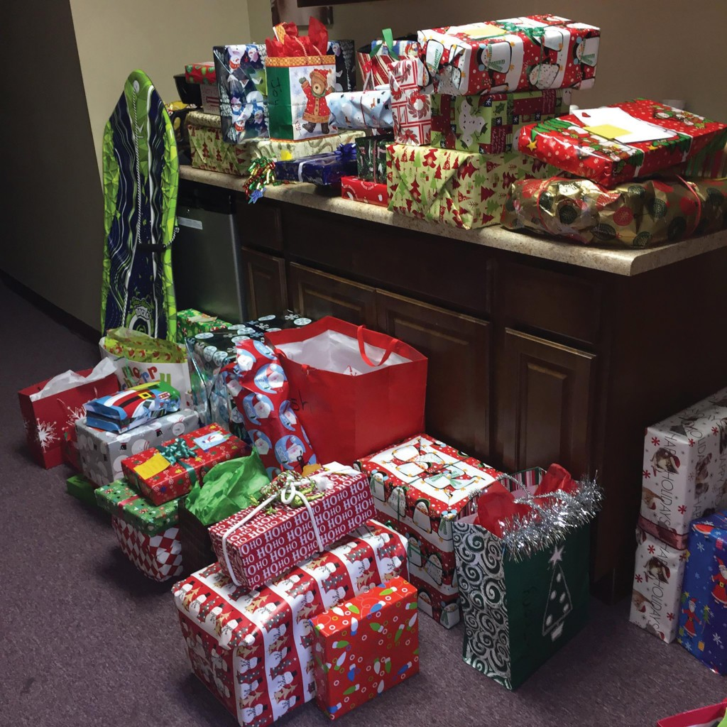 Holiday Gifts From Our 2019 Holiday Gift Drive. When The Gift Drive Is In Full Swing, Gifts Line The Hallways Of The Casa House And Spill Into Offices