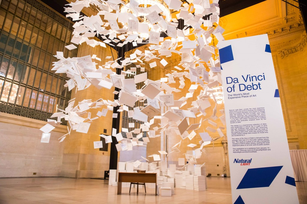Natural Light Da Vinci Of Debt Hero