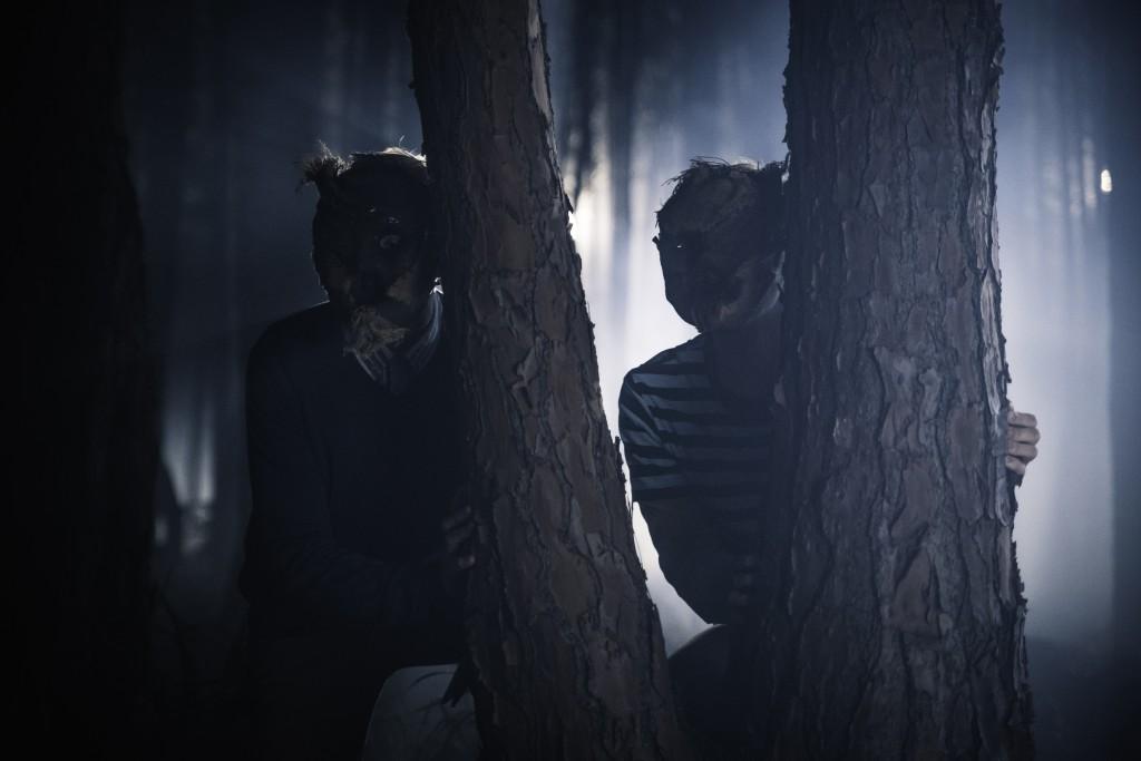 Bh Still Masked Children Lurk In The Woods