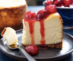 Cherry Cheesecake from Maceli's. // Photo by Maceli's