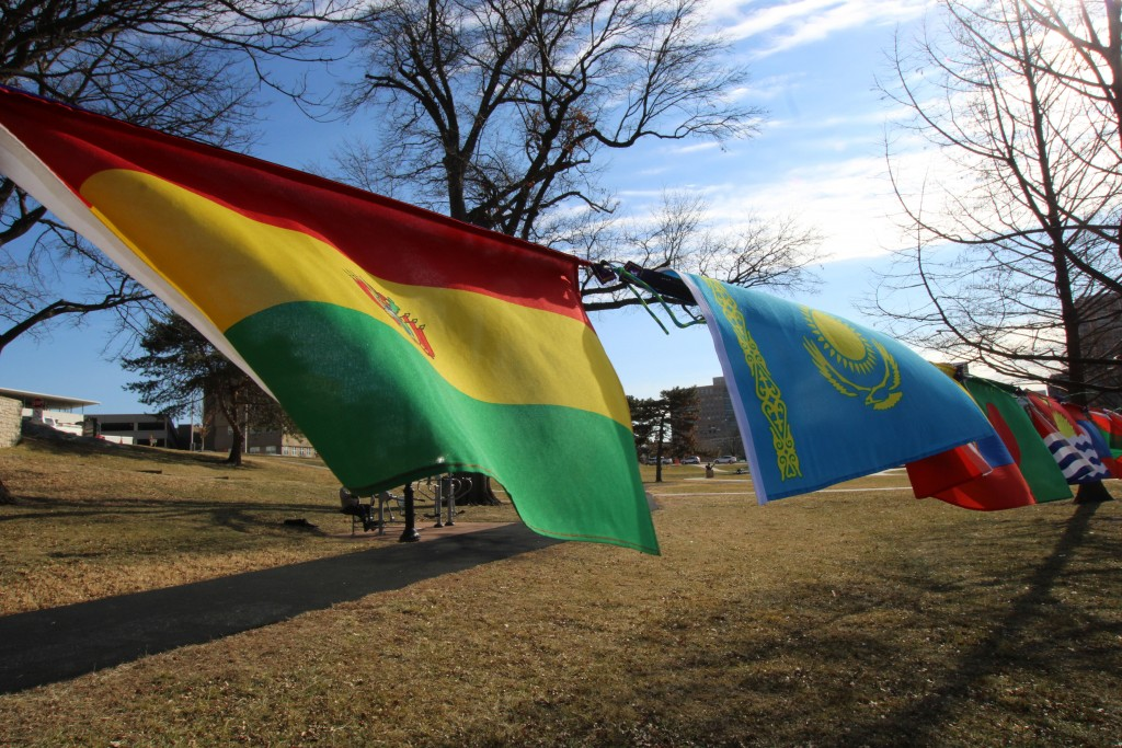Flags Fly For Each Ratifying Nation