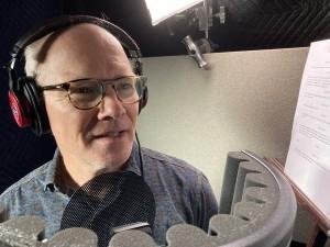Dan Butler Recording Podcast Photo Whittaker Ingbretson 1