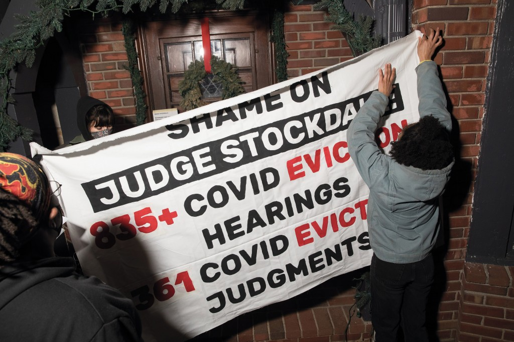 Kc Tenants Zero Evictions January Actions. Chase Castor/the Pitch