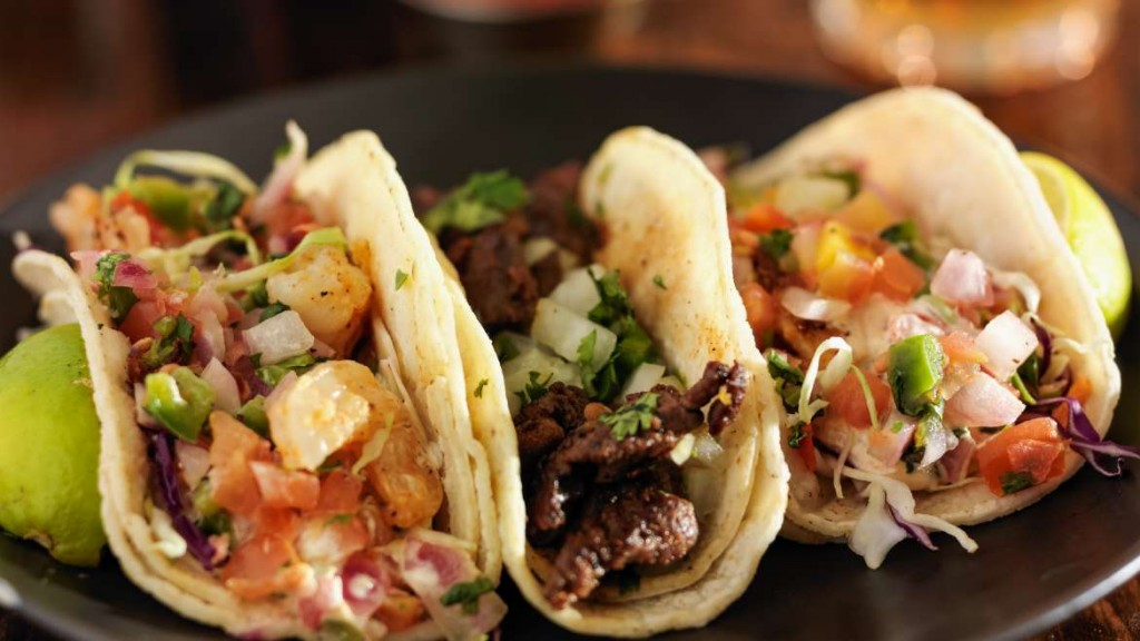 Tacos from Wrap It Up in Kansas City