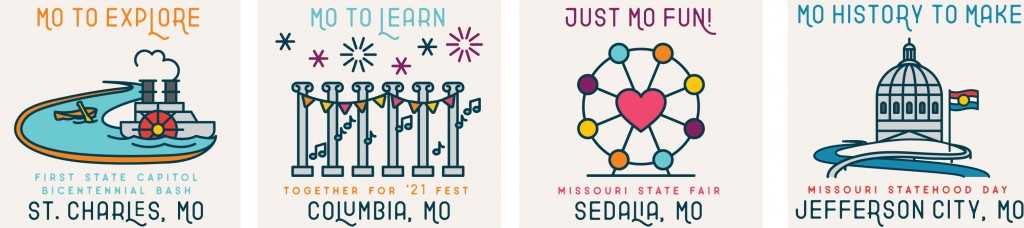 Four Statewide Event Logos