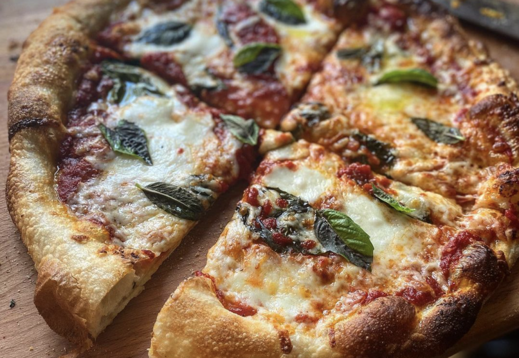 A photo of pizza from Observation Pizza.