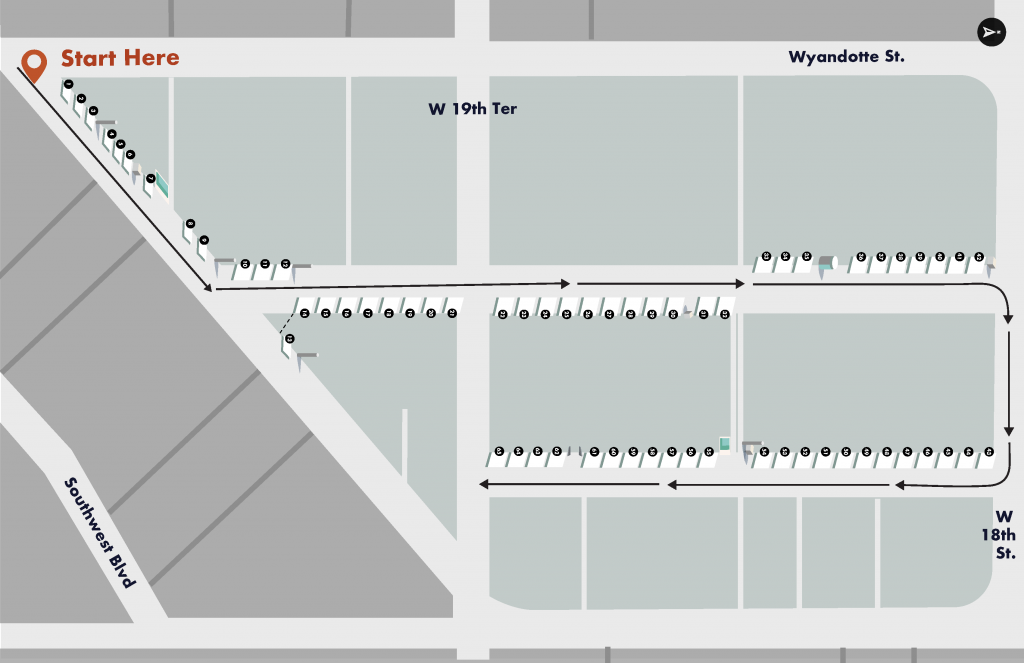 First Friday Art Alleys Map 2021 Page 2