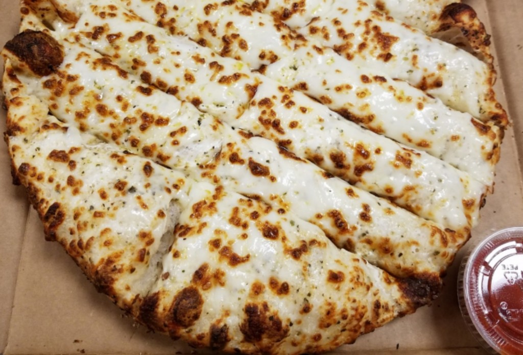 A picture of cheese sticks fromPizza Shuttle