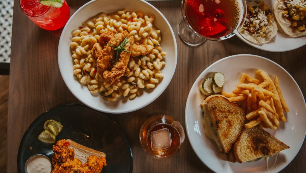 A photo of dishes from Third Street Social