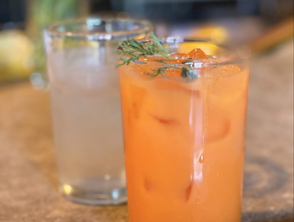 A photo of Fancies Gin And Carrot Tonic