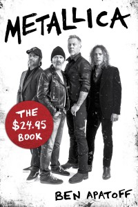 Metallica 2495 Book Apatoff Cover