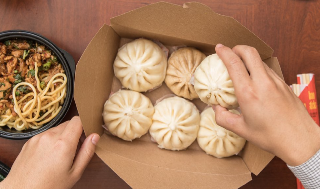 A photo of buns from Wow Bao