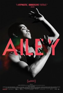 A poster for the Ailey documentary