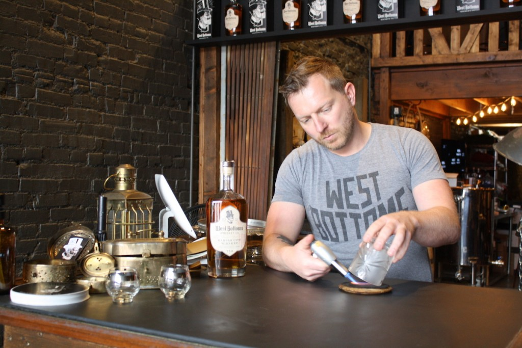1 Master Distiller Alex Lindsey And The Start Of That Infamous West Bottoms Whiskey Co Old Fashioned Photo By Mary Henn