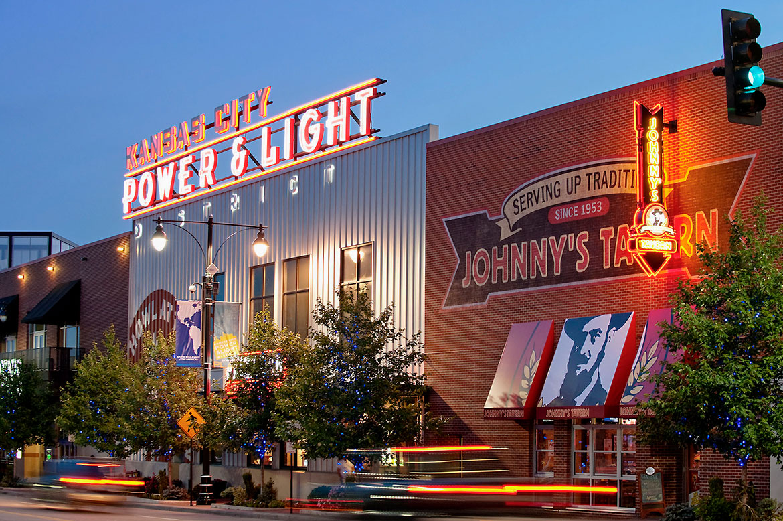 Kansas City Power Light Johnnys Tavern