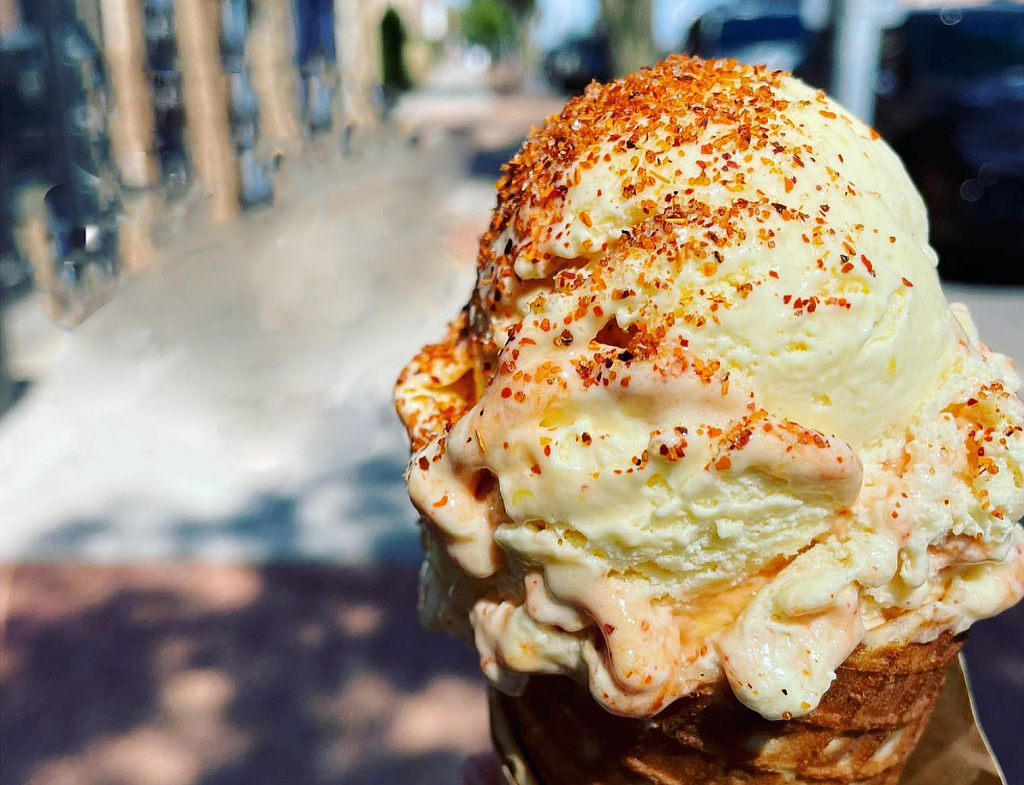 A photo of ice cream from High Hopes