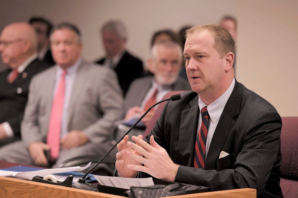 Missouri Attorney General Schmitt Testifying To A Missouri House Committee Photo By Tim Bommel Missouri House Communications